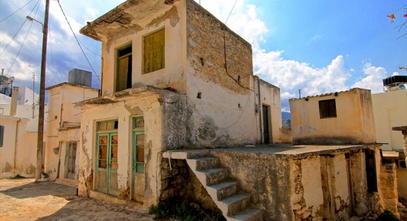 Недорогой вариант для жизни в традиционной деревушке Крита